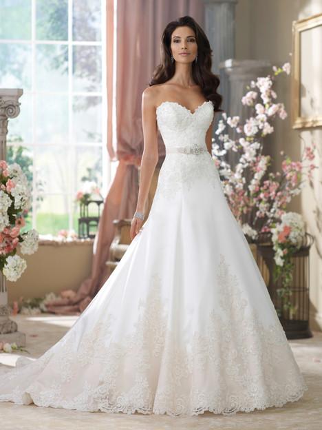 Nastia Wedding                                          dress by Martin Thornburg for Mon Cheri