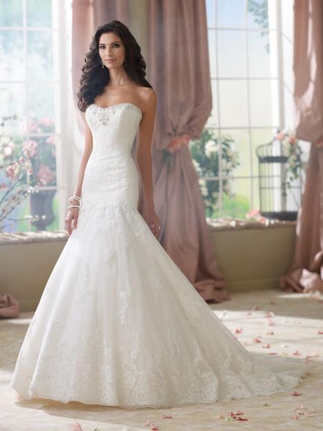 Beezie Wedding                                          dress by Martin Thornburg for Mon Cheri