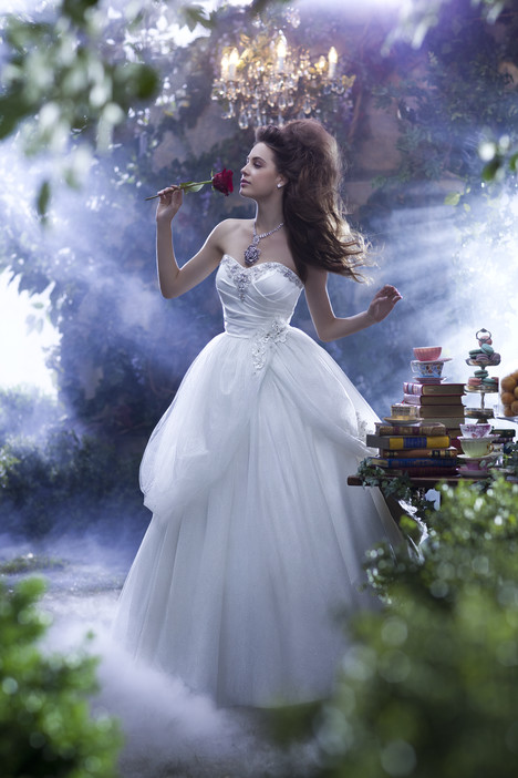 235 Belle Wedding                                          dress by Alfred Angelo : Disney Fairy Tale Bridal