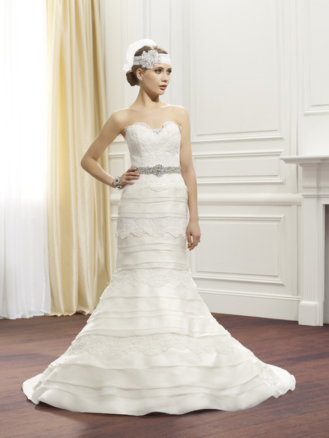 Ava w/ Belt gown from the 2014 Val Stefani collection, as seen on dressfinder.ca