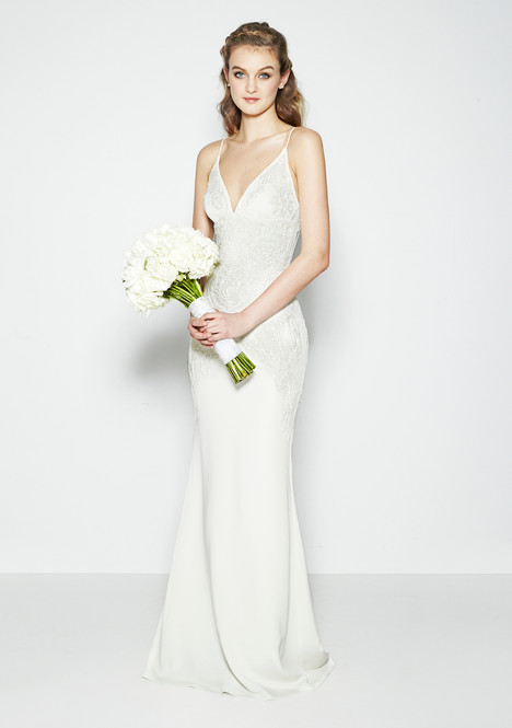 Annabell Wedding                                          dress by Nicole Miller