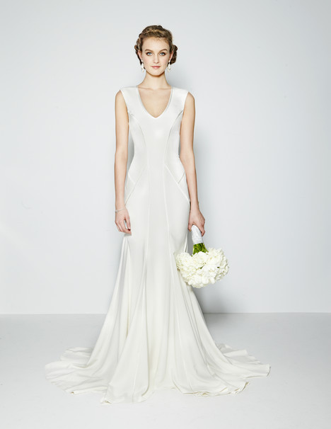 Kendall Wedding                                          dress by Nicole Miller