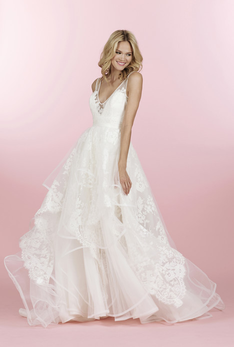 Conrad (6458) gown from the 2014 Hayley Paige collection, as seen on dressfinder.ca