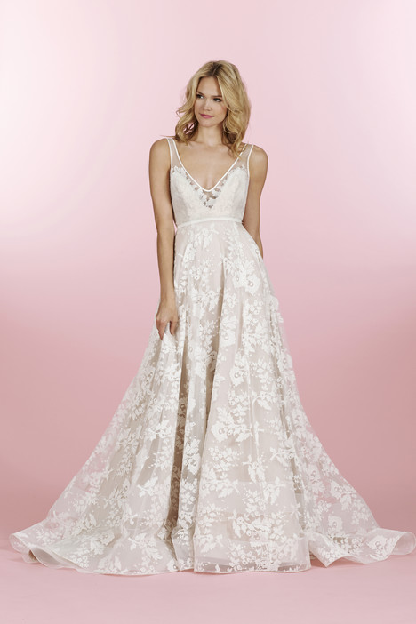 Style 6458, Conrad (2) gown from the 2014 Hayley Paige collection, as seen on dressfinder.ca
