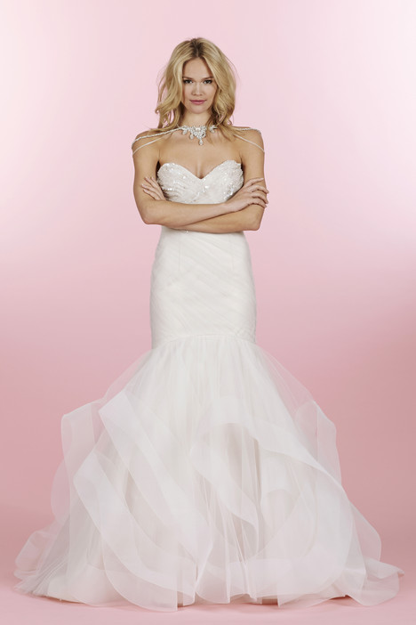 Aurora (6460) gown from the 2014 Hayley Paige collection, as seen on dressfinder.ca