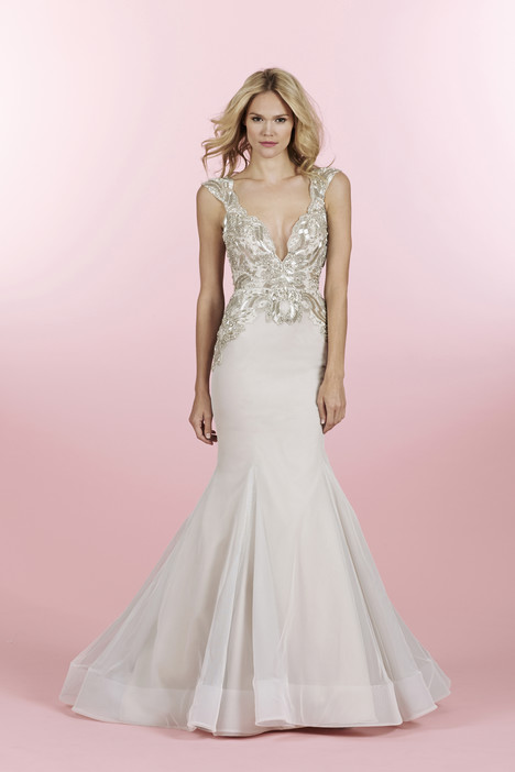Sasha (6463) gown from the 2014 Hayley Paige collection, as seen on dressfinder.ca