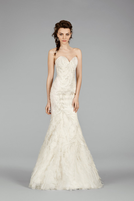 3458 gown from the 2014 Lazaro collection, as seen on dressfinder.ca