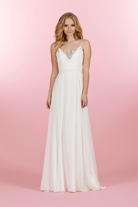 Catalina gown from the 2014 Blush by Hayley Paige collection, as seen on dressfinder.ca