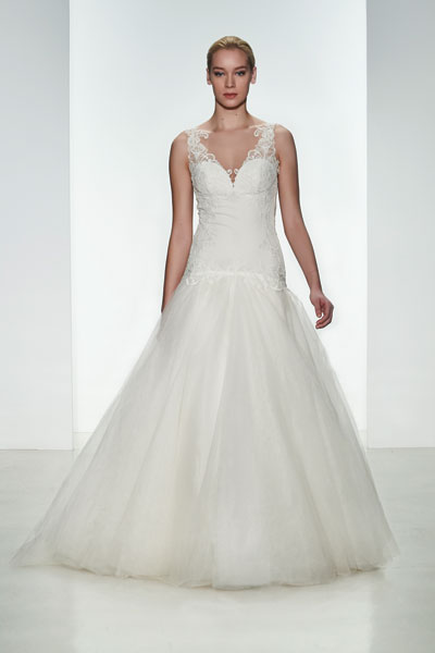 Lena gown from the 2015 Kenneth Pool collection, as seen on dressfinder.ca