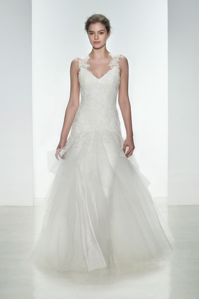 June Wedding                                          dress by Christos