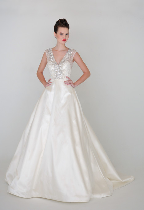 Alexandra Wedding dress by Barbara Kavchok