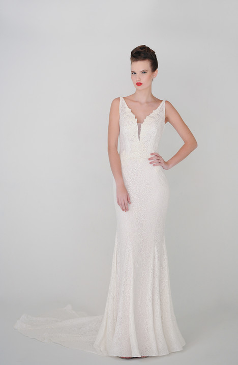 Daphne gown from the 2015 Barbara Kavchok collection, as seen on dressfinder.ca