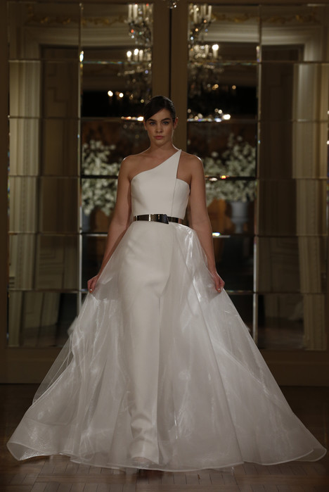 RK5400 Wedding                                          dress by Romona Keveza Collection