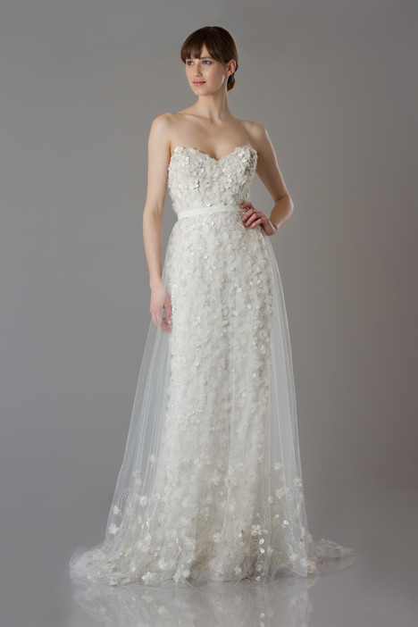 Genevieve + Ava Overskirt Wedding dress by Theia White Collection