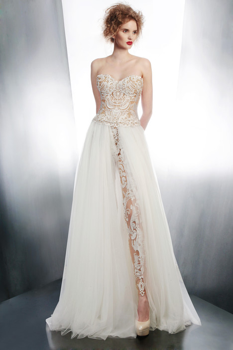 4006T + 4152LS + 3965L gown from the 2015 Gemy Maalouf collection, as seen on dressfinder.ca