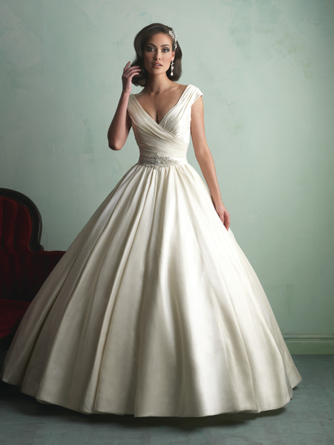 Style 9155 gown from the 2014 Allure Bridals collection, as seen on dressfinder.ca