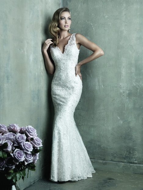 C291 Wedding                                          dress by Allure Couture