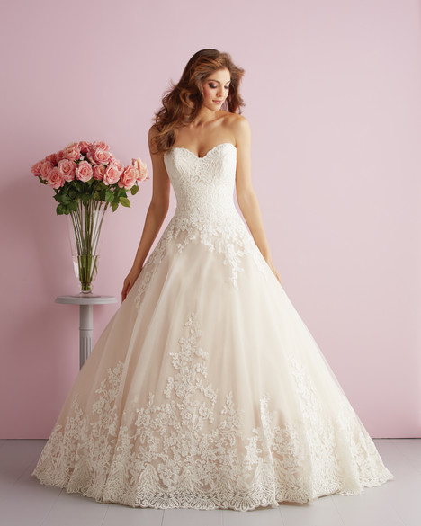 Style 2701 gown from the 2014 Allure Romance collection, as seen on dressfinder.ca
