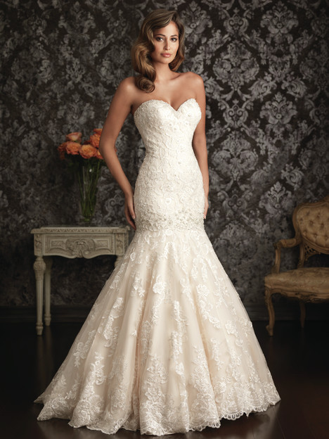 Style 9018 gown from the 2013 Allure Bridals collection, as seen on dressfinder.ca