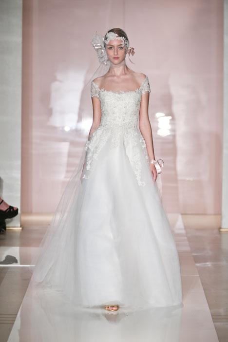 Isla Wedding                                          dress by Reem Acra