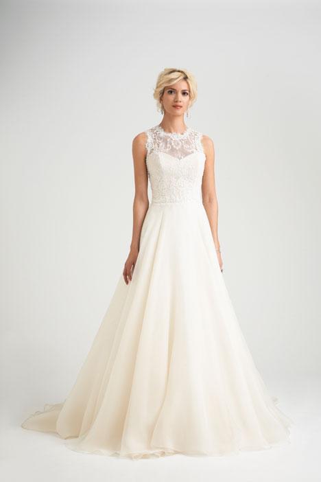 Antibes Wedding                                          dress by Caroline Castigliano