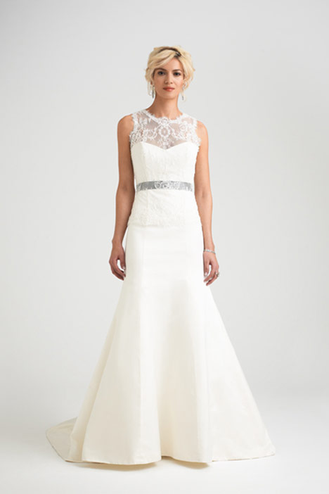 Romelli + Hollie Shrug Wedding                                          dress by Caroline Castigliano