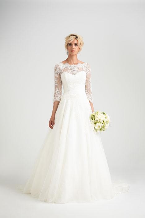 Rossini Wedding                                          dress by Caroline Castigliano
