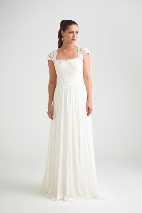 Springtime Wedding                                          dress by Caroline Castigliano