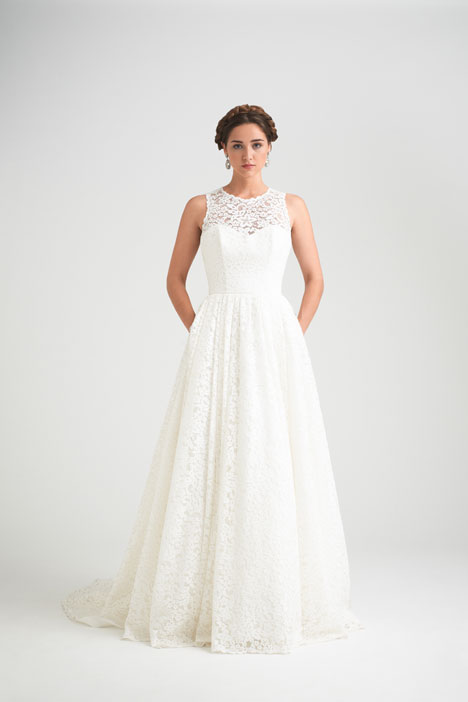 Vintage gown from the 2015 Caroline Castigliano collection, as seen on dressfinder.ca