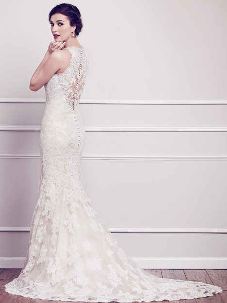 1580 (back) gown from the 2015 Kenneth Winston collection, as seen on dressfinder.ca