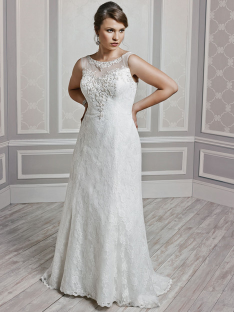 3382 Wedding dress by Femme by Kenneth Winston