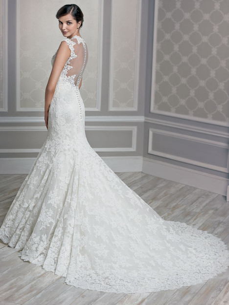 1609 (back) gown from the 2015 Kenneth Winston collection, as seen on dressfinder.ca