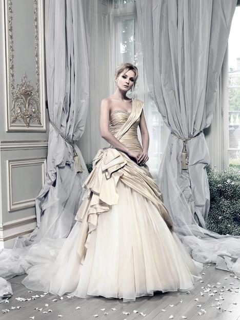 Beauty Queen (2) Wedding                                          dress by Ian Stuart