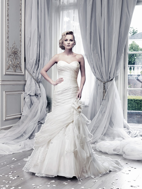 Bewitched (ivory lace) Wedding                                          dress by Ian Stuart