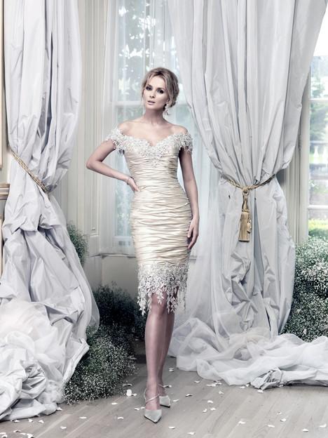 Brunei Short Wedding                                          dress by Ian Stuart