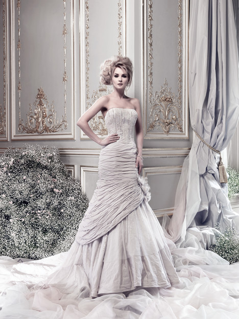 Cosmopolitan Wedding                                          dress by Ian Stuart
