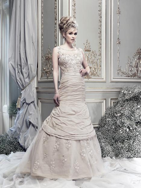 Electra Wedding                                          dress by Ian Stuart