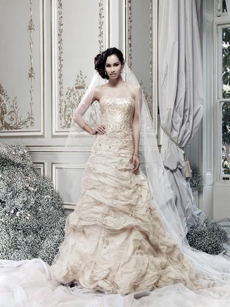 Ember Wedding                                          dress by Ian Stuart