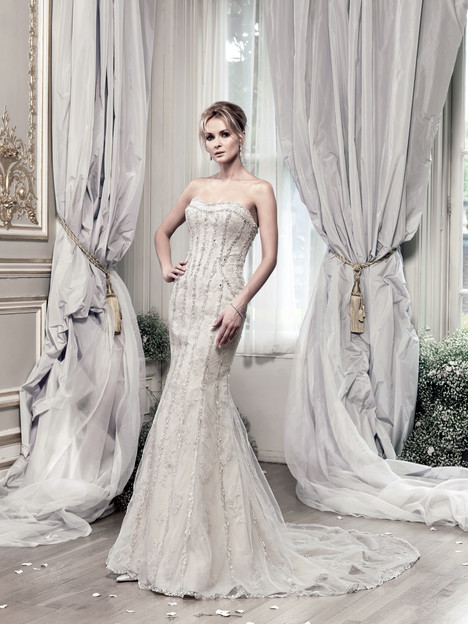 Evangelista Wedding                                          dress by Ian Stuart