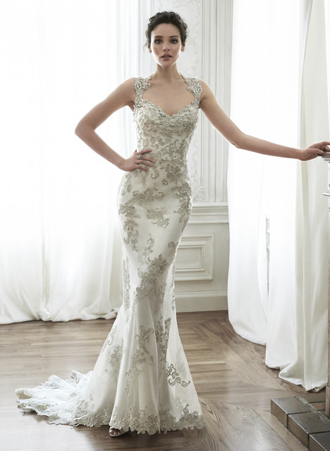 Jade Wedding                                          dress by Maggie Sottero