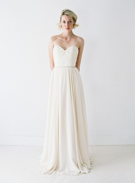 Elisabeth Wedding                                          dress by Truvelle