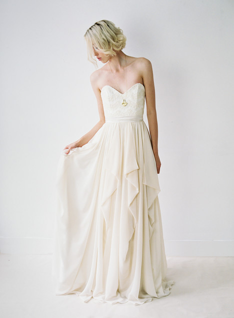 Natalie Wedding                                          dress by Truvelle