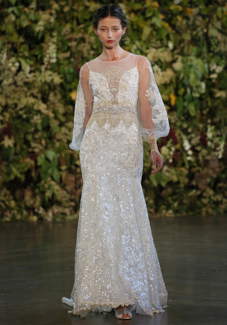Ariel Wedding                                          dress by Claire Pettibone : Romantique