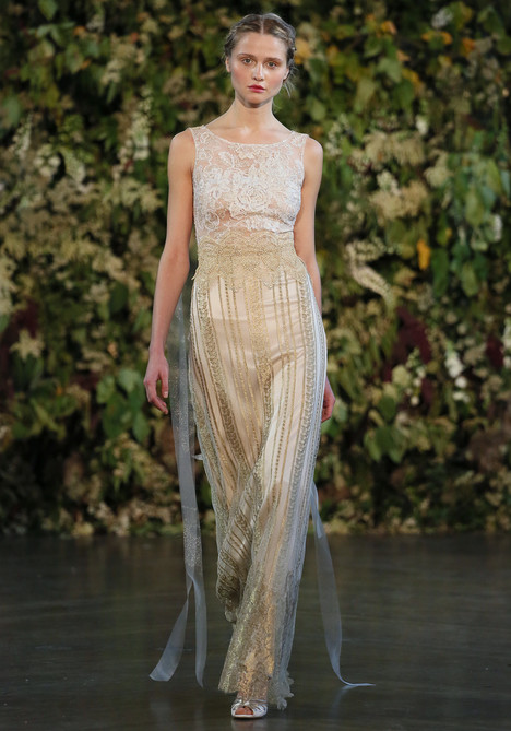 Chapelle Wedding                                          dress by Claire Pettibone : Romantique