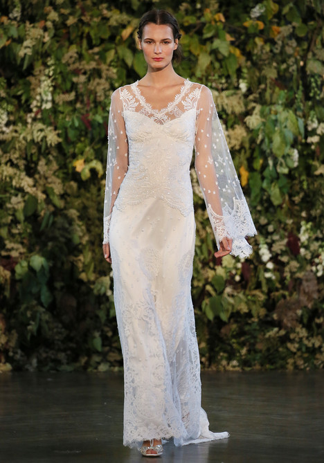 Emanuel Wedding                                          dress by Claire Pettibone: Romantique