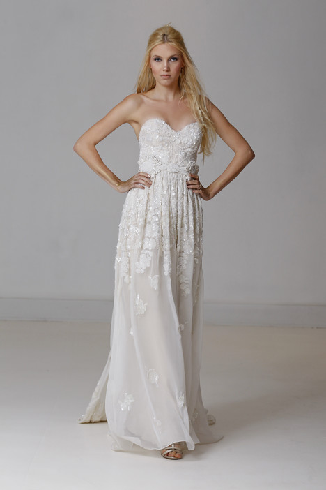 Chrysolite gown from the 2015 Carol Hannah collection, as seen on dressfinder.ca