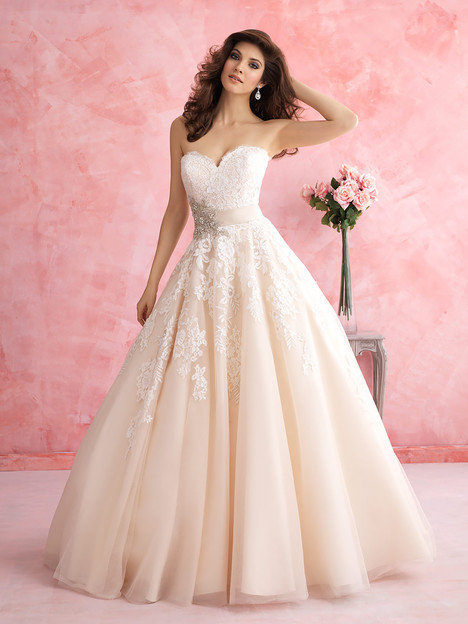 2809 Wedding                                          dress by Allure Bridals : Allure Romance