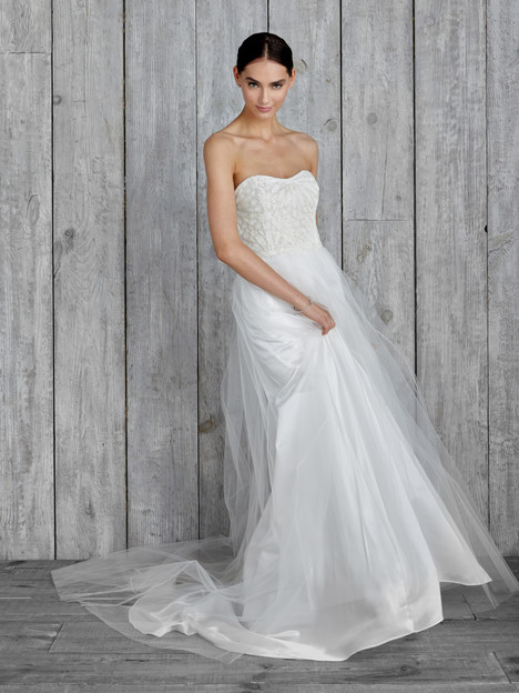 Delphine Wedding                                          dress by Nicole Miller