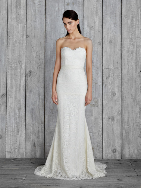 Mariana Wedding                                          dress by Nicole Miller