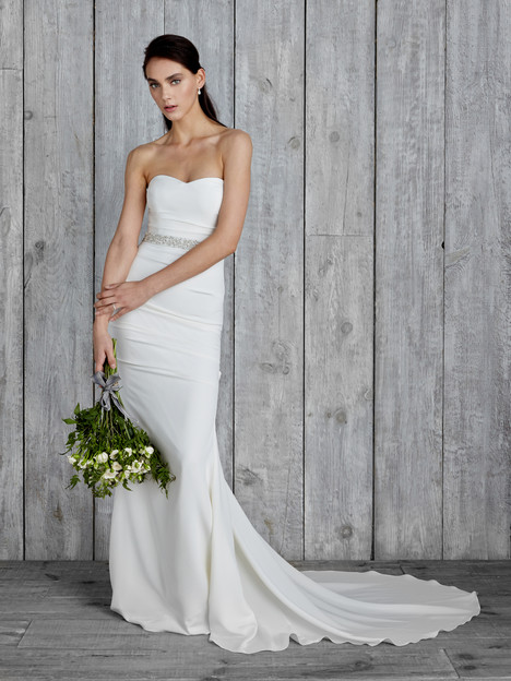 Melanie Wedding                                          dress by Nicole Miller